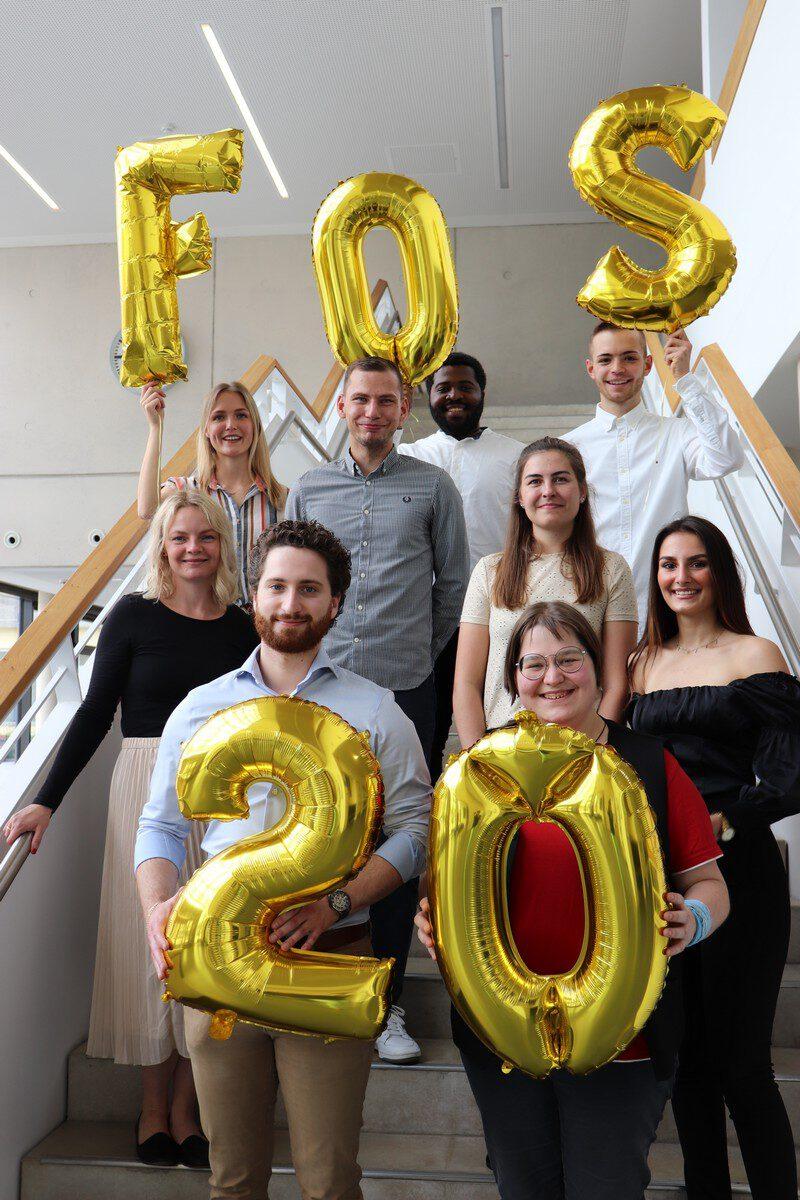 Die Absolventen und Absolventinnen der FOS 2021