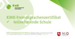 KMK-Zertifikat Banner